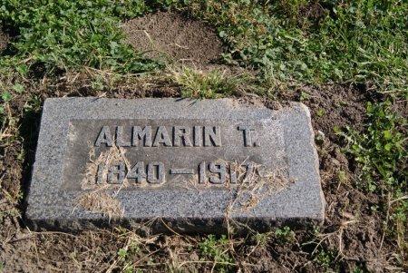 ALMARIN, T - Douglas County, Kansas | T ALMARIN - Kansas Gravestone Photos