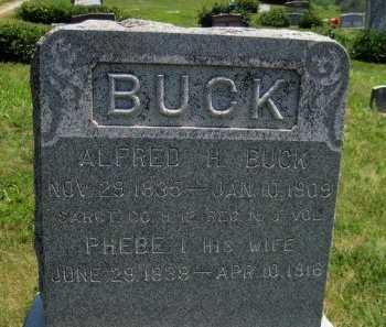 BUCK, ALFRED H. (VETERAN  UNION) - Douglas County, Kansas   ALFRED H. (VETERAN  UNION) BUCK - Kansas Gravestone Photos