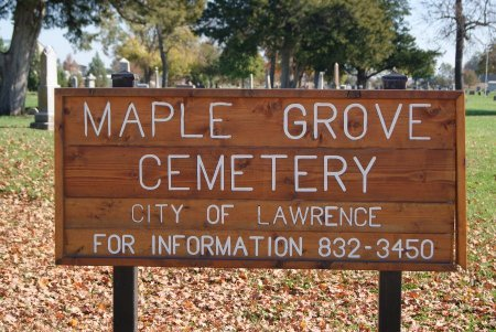 CEMETERY, MAPLE GROVE - Douglas County, Kansas | MAPLE GROVE CEMETERY - Kansas Gravestone Photos