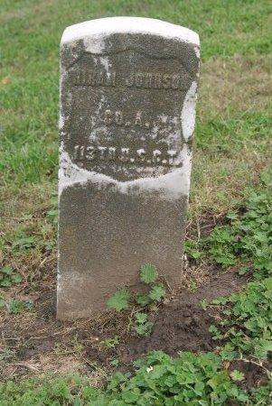 JOHNSON, HIRAM  (VETERAN UNION) - Douglas County, Kansas   HIRAM  (VETERAN UNION) JOHNSON - Kansas Gravestone Photos