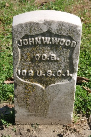 WOOD, JOHN W  (VETERAN UNION) - Douglas County, Kansas | JOHN W  (VETERAN UNION) WOOD - Kansas Gravestone Photos