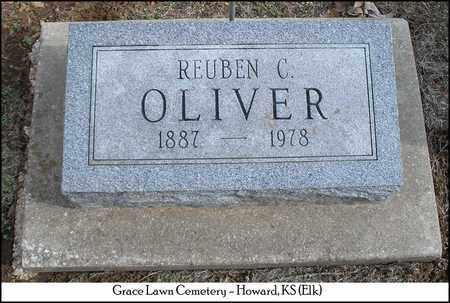 OLIVER, REUBEN CLELAND - Elk County, Kansas | REUBEN CLELAND OLIVER - Kansas Gravestone Photos