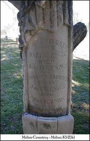 ANDERSON SIDENER, MIANDA - Elk County, Kansas | MIANDA ANDERSON SIDENER - Kansas Gravestone Photos