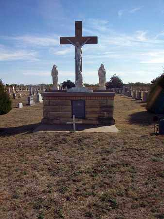 *CRUCIFIX,  - Ellis County, Kansas |  *CRUCIFIX - Kansas Gravestone Photos