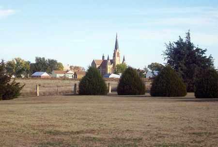 *HOLY CROSS CHURCH,  - Ellis County, Kansas |  *HOLY CROSS CHURCH - Kansas Gravestone Photos
