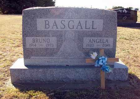 "BASGALL BASGALL, ANGELA CATHERINE ""ANGIE"" - Ellis County, Kansas | ANGELA CATHERINE ""ANGIE"" BASGALL BASGALL - Kansas Gravestone Photos"