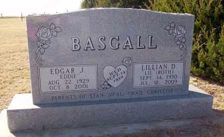 "ROTH BASGALL, LILLIAN D ""LIL"" - Ellis County, Kansas   LILLIAN D ""LIL"" ROTH BASGALL - Kansas Gravestone Photos"