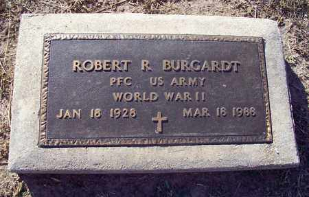 BURGARDT, ROBERT R  (VETERAN WWII) - Ellis County, Kansas | ROBERT R  (VETERAN WWII) BURGARDT - Kansas Gravestone Photos