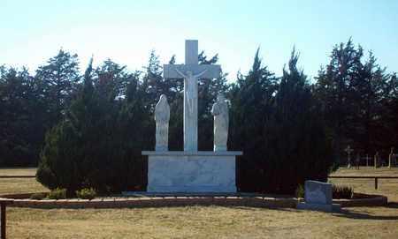 *CRUCIFIX,  - Ellis County, Kansas    *CRUCIFIX - Kansas Gravestone Photos
