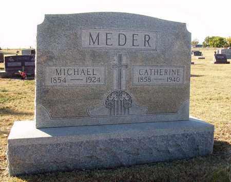 MEDER, MICHAEL - Ellis County, Kansas | MICHAEL MEDER - Kansas Gravestone Photos