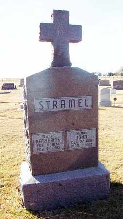 STRAMEL, JOHN - Ellis County, Kansas   JOHN STRAMEL - Kansas Gravestone Photos