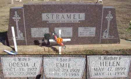STRAMEL, EMIL - Ellis County, Kansas | EMIL STRAMEL - Kansas Gravestone Photos