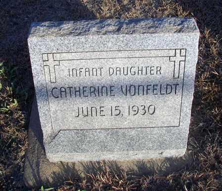 VONFELDT, CATHERINE - Ellis County, Kansas   CATHERINE VONFELDT - Kansas Gravestone Photos