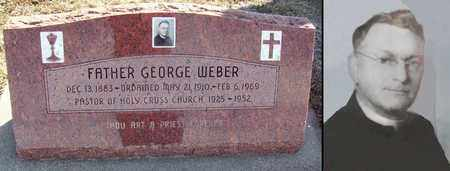 WEBER, GEORGE, REV - Ellis County, Kansas | GEORGE, REV WEBER - Kansas Gravestone Photos