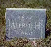 HENRY, ALFRED HERBERT - Ellsworth County, Kansas   ALFRED HERBERT HENRY - Kansas Gravestone Photos