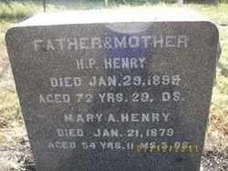 PRENTZ HENRY, MARY ANN - Ellsworth County, Kansas | MARY ANN PRENTZ HENRY - Kansas Gravestone Photos