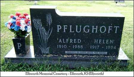 PFLUGHOFT, HELEN - Ellsworth County, Kansas   HELEN PFLUGHOFT - Kansas Gravestone Photos