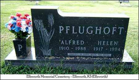 PFLUGHOFT, ALFRED - Ellsworth County, Kansas | ALFRED PFLUGHOFT - Kansas Gravestone Photos