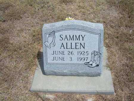 ALLEN, SAMMY - Finney County, Kansas   SAMMY ALLEN - Kansas Gravestone Photos