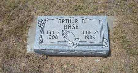 BASE, ARTHUR A - Finney County, Kansas   ARTHUR A BASE - Kansas Gravestone Photos