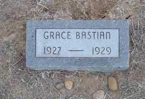 BASTIAN, GRACE - Finney County, Kansas | GRACE BASTIAN - Kansas Gravestone Photos