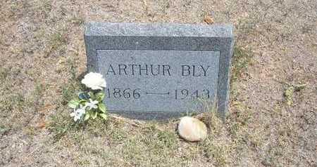 BLY, ARTHUR DOW - Finney County, Kansas | ARTHUR DOW BLY - Kansas Gravestone Photos