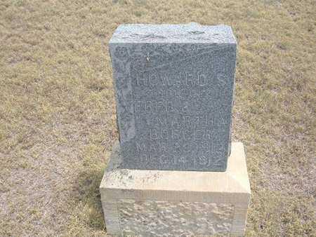 BORGER, HOWARD S - Finney County, Kansas | HOWARD S BORGER - Kansas Gravestone Photos