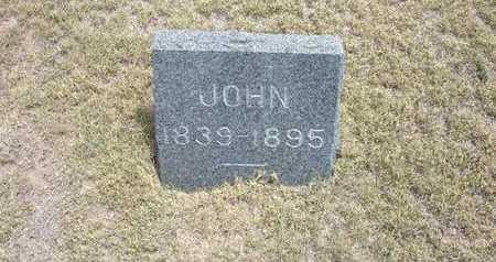 BORGER, JOHN - Finney County, Kansas | JOHN BORGER - Kansas Gravestone Photos