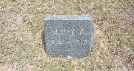 BORGER, MARY A - Finney County, Kansas   MARY A BORGER - Kansas Gravestone Photos