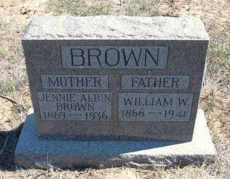 BROWN, WILLIAM WALTER - Finney County, Kansas | WILLIAM WALTER BROWN - Kansas Gravestone Photos