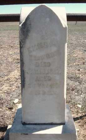 BROWNING, EMMA - Finney County, Kansas | EMMA BROWNING - Kansas Gravestone Photos
