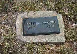 COATES, RUSSELL - Finney County, Kansas | RUSSELL COATES - Kansas Gravestone Photos