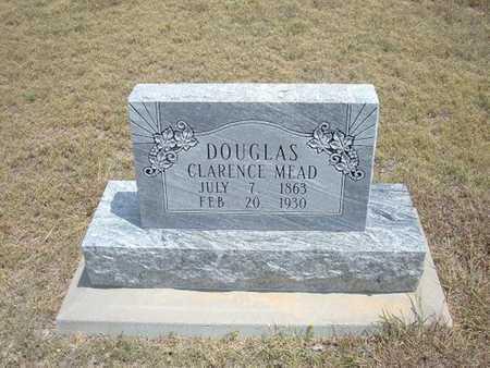 DOUGLAS, CLARENCE MEAD - Finney County, Kansas | CLARENCE MEAD DOUGLAS - Kansas Gravestone Photos