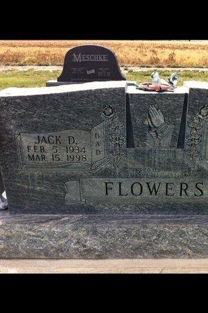 FLOWERS, JACK D - Finney County, Kansas | JACK D FLOWERS - Kansas Gravestone Photos