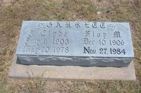GARRETT, J CLYDE - Finney County, Kansas | J CLYDE GARRETT - Kansas Gravestone Photos