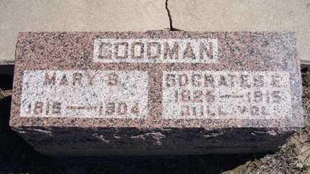 GOODMAN, SOCRATES E  (VETERAN UNION - Finney County, Kansas | SOCRATES E  (VETERAN UNION GOODMAN - Kansas Gravestone Photos