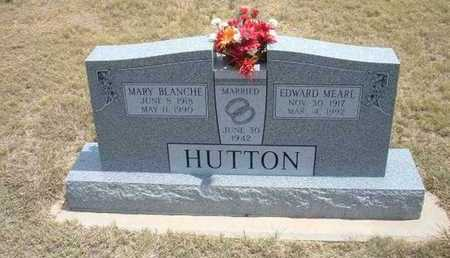 HUTTON, MARY BLANCHE - Finney County, Kansas | MARY BLANCHE HUTTON - Kansas Gravestone Photos