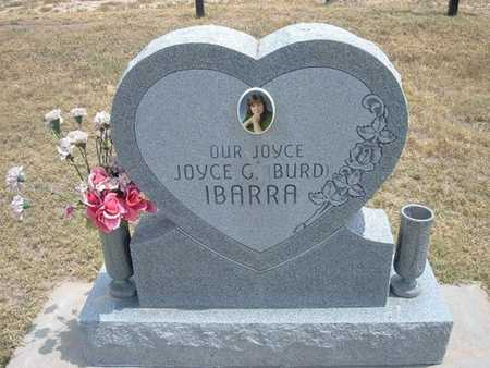 BURD IBBARA, JOYCE G - Finney County, Kansas | JOYCE G BURD IBBARA - Kansas Gravestone Photos