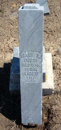JAMES, MAUD E - Finney County, Kansas | MAUD E JAMES - Kansas Gravestone Photos