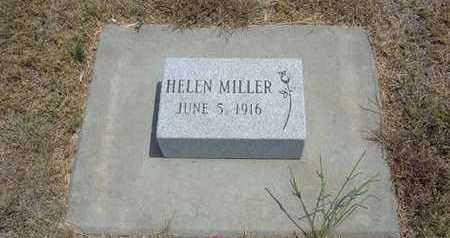 MILLER, HELEN - Finney County, Kansas   HELEN MILLER - Kansas Gravestone Photos