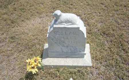 MILLER, ROLLAND - Finney County, Kansas | ROLLAND MILLER - Kansas Gravestone Photos