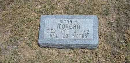 MORGAN, SINNA H - Finney County, Kansas | SINNA H MORGAN - Kansas Gravestone Photos