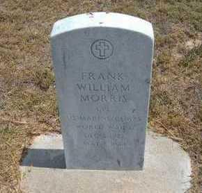 MORRIS, FRANK WILLIAM  (VETERAN WWII) - Finney County, Kansas | FRANK WILLIAM  (VETERAN WWII) MORRIS - Kansas Gravestone Photos