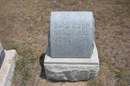 ORF, CARL - Finney County, Kansas   CARL ORF - Kansas Gravestone Photos