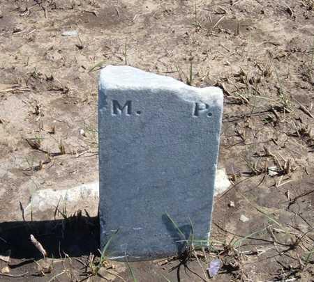 P, M - Finney County, Kansas | M P - Kansas Gravestone Photos