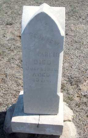 PARKER, GEORGE W - Finney County, Kansas | GEORGE W PARKER - Kansas Gravestone Photos