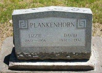 "PLANKENHORN, ELIZABETH ""LIZZIE"" - Finney County, Kansas | ELIZABETH ""LIZZIE"" PLANKENHORN - Kansas Gravestone Photos"