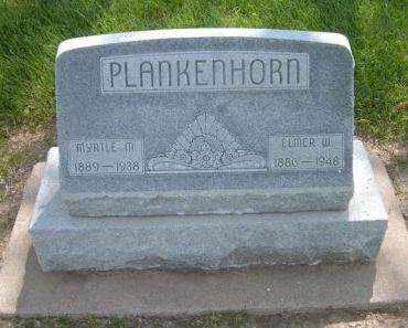 PLANKENHORN, MYRTLE M - Finney County, Kansas | MYRTLE M PLANKENHORN - Kansas Gravestone Photos