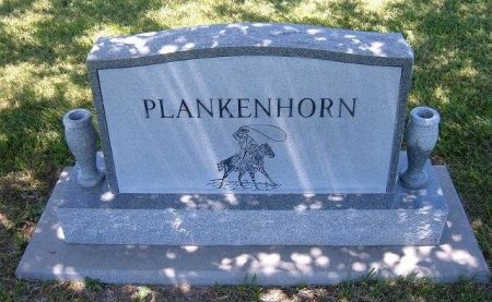 PLANKENHORN FAMILY GRAVESTONE,  - Finney County, Kansas |  PLANKENHORN FAMILY GRAVESTONE - Kansas Gravestone Photos