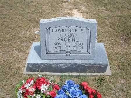 """PROEHL, LAWERENCE  R """"LARRY"""" - Finney County, Kansas 